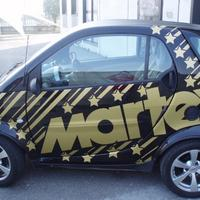 Decorazione auto Smart